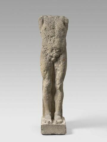 statue ; pilier