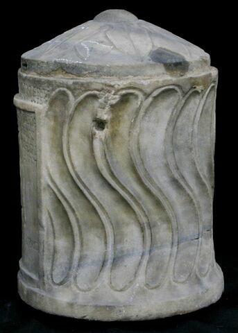 urne ; couvercle d'urne
