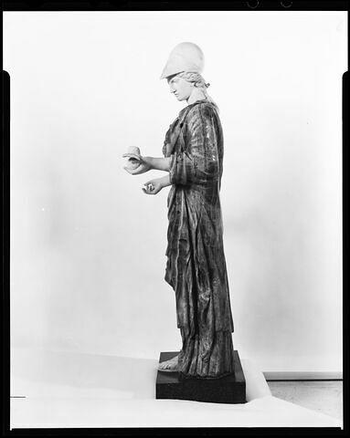 profil gauche © 2005 Musée du Louvre / Bertrand Leroy/ Anne Chauvet