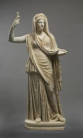 statue ; Héra Campana