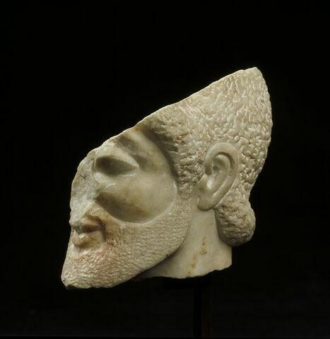 statuette  ; tête Fauvel