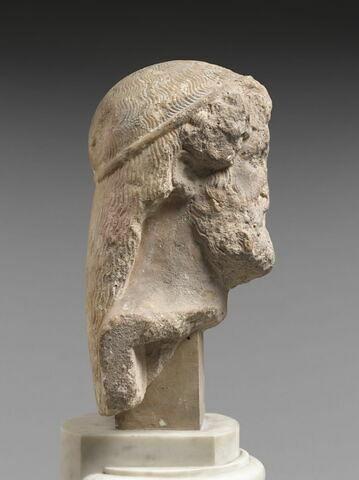 profil droit © 2011 Musée du Louvre / Hervé Lewandowski
