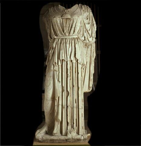 statue ; Minerve Ingres-Athéna Médicis