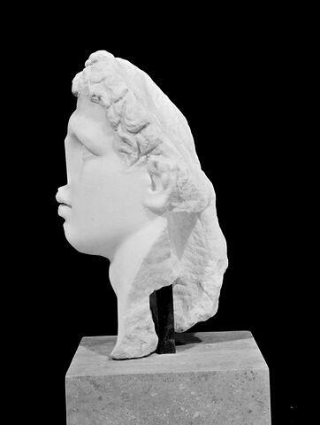 profil gauche © 1999 Musée du Louvre / Christian Larrieu