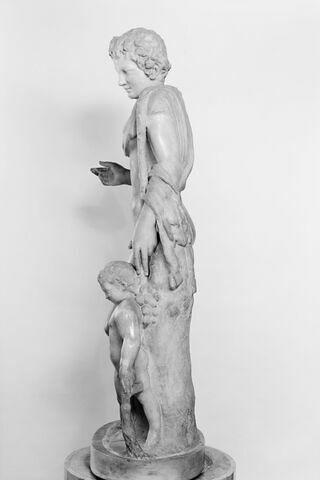 profil gauche © Musée du Louvre / Maurice et Pierre Chuzeville
