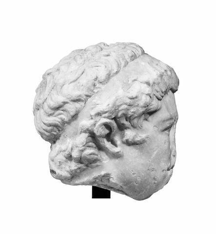 profil droit © 1994 Musée du Louvre / Christian Larrieu
