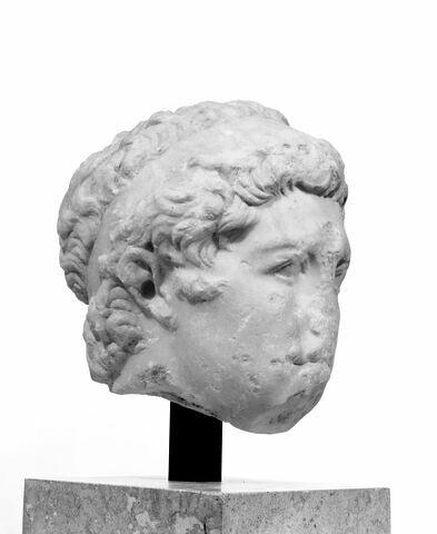 profil droit © 1995 Musée du Louvre / Christian Larrieu