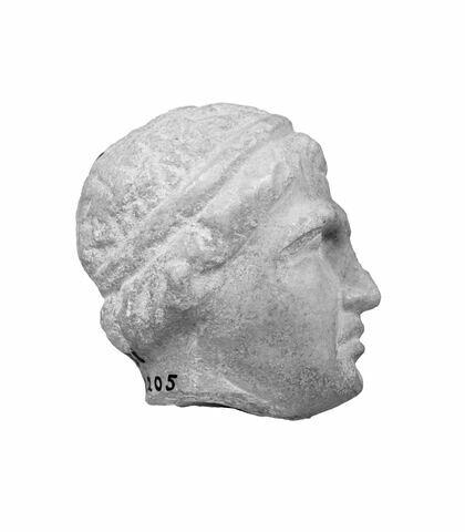 profil droit © 1999 Musée du Louvre / Christian Larrieu