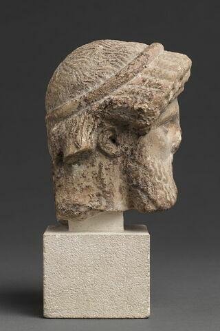 profil droit © 2012 RMN-Grand Palais (musée du Louvre) / Tony Querrec