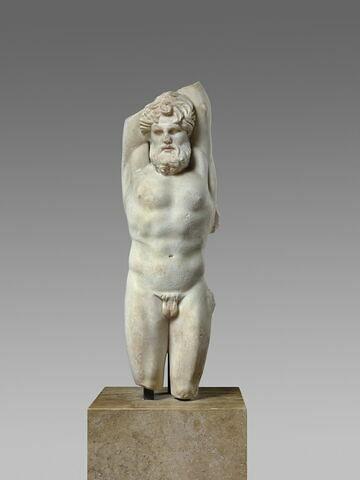 statuette ; Marsyas