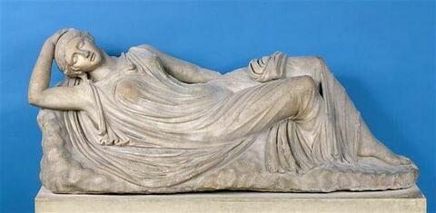 statue ; Ariane endormie