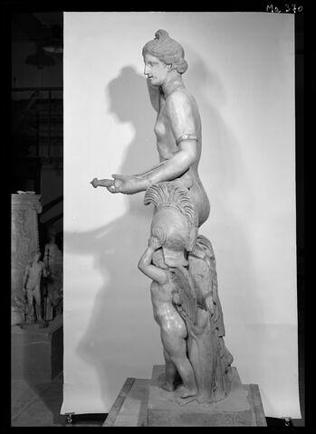 profil gauche © 1989 Musée du Louvre / Maurice et Pierre Chuzeville