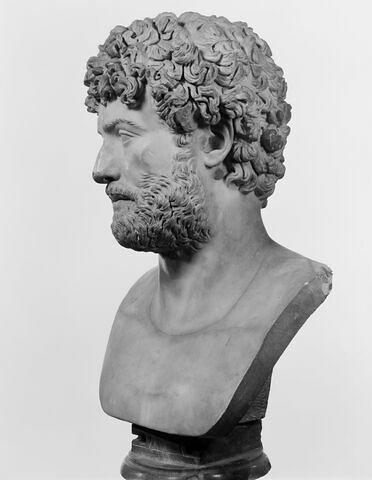 profil gauche © 1990 Musée du Louvre / Christian Larrieu