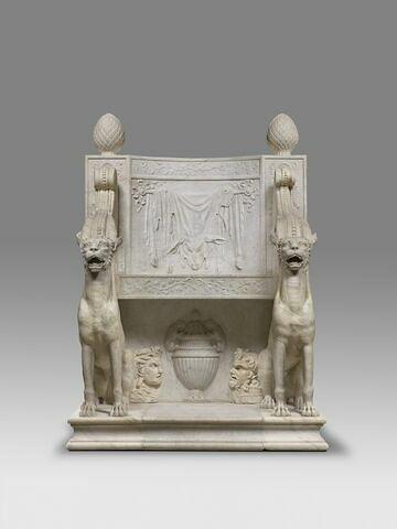 siège ; Trône de Bacchus