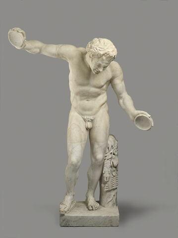 statue ; Satyre dansant