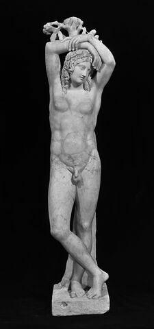 statue ; Génie du repos éternel