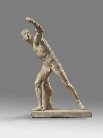 statue ; Gladiateur Borghèse