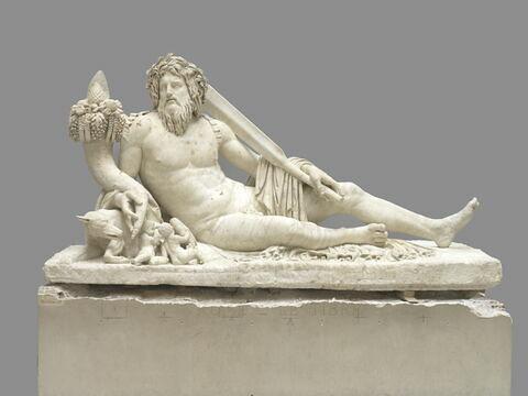 statue ; Le Tibre