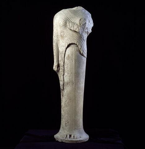 statue ; Héra de Samos