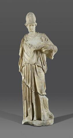 statue ; Athena à la ciste