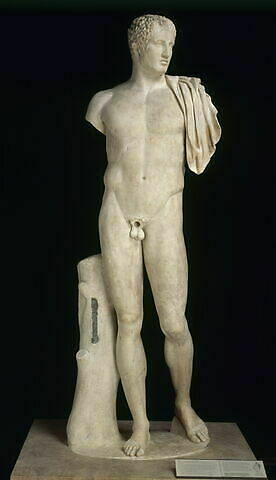 statue ; Diomède Richelieu