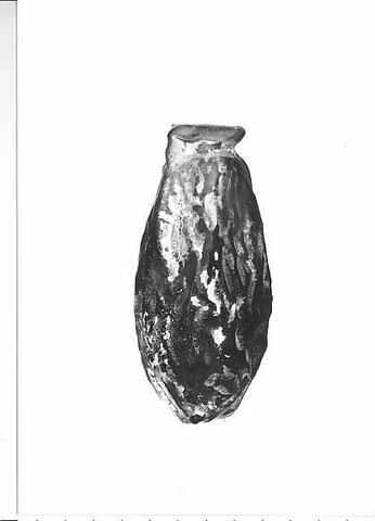 vase plastique ; flacon