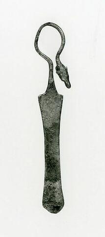 manche de louche ; fragment