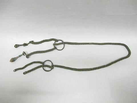 chaîne ; élément de ceinture