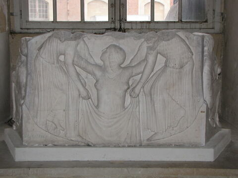 moulage ; relief ; Trône Ludovisi