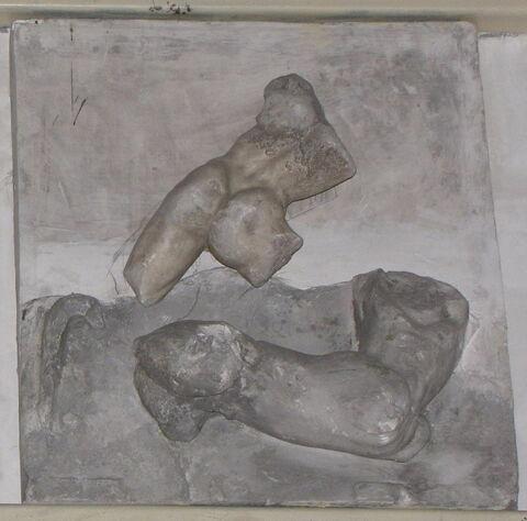 moulage ; métope  ; Métope d'Héraklès et un centaure
