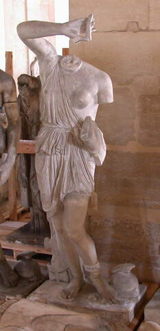 statue ; Tirage intégral de l'Amazone Mattei
