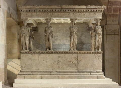 moulage ; monument ; baldaquin des caryatides