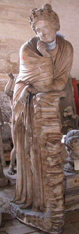 moulage ; statue ; Polymnie
