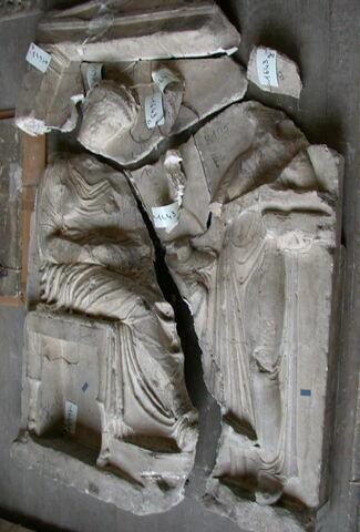 """moulage ; Stèle funéraire attique dite """"de Phrasicléia""""."""