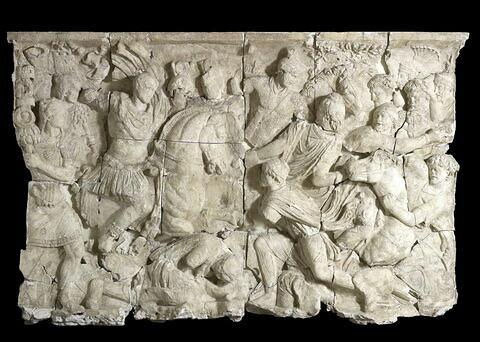 moulage ; relief ; Relief du Maître de la Geste de Trajan