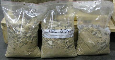 urne ; matériau organique