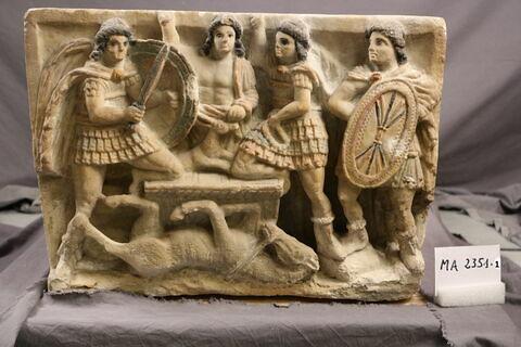 © 2017 Musée du Louvre / Antiquités grecques, étrusques et romaines