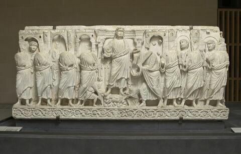 sarcophage ; Sarcophage de la Traditio Legis