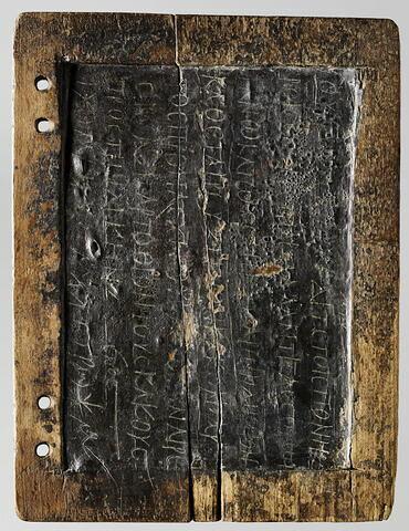 tablette ; cahier de Papnoution