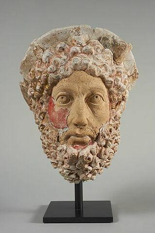 statue  ; tête ; Tête de Commode