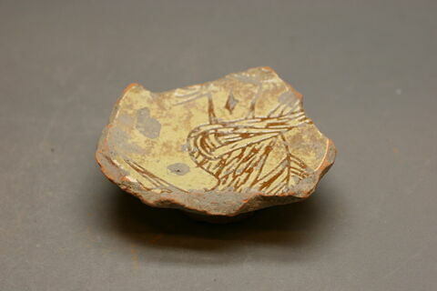 Fragment de la partie inférieur du vase