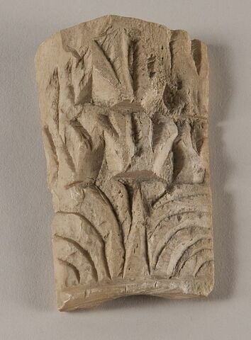 Fragment de décor de mobilier (?)
