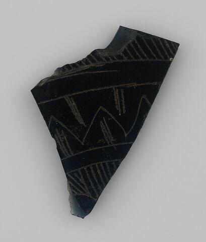Fragment à décor géométrique
