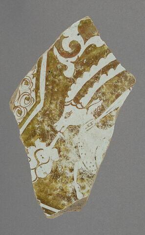 Fragment de fond à la gazelle