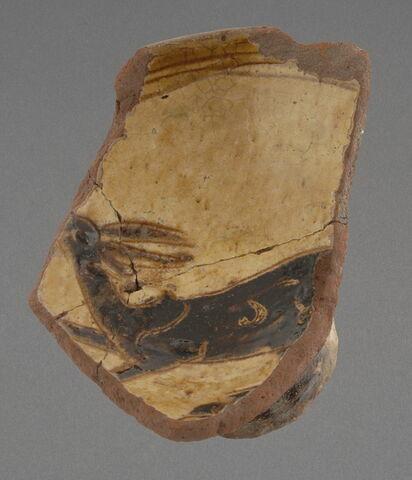 Fragment, bord de coupe au cervidé
