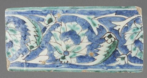 Frise à décor de lotus