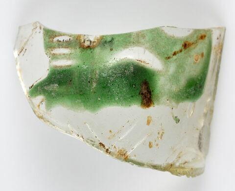 Fragment bicolore convexe