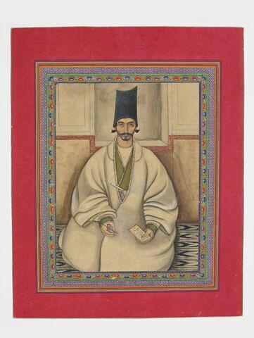 Portrait du poète Yaghma Jandaqi (1781 - 1859)