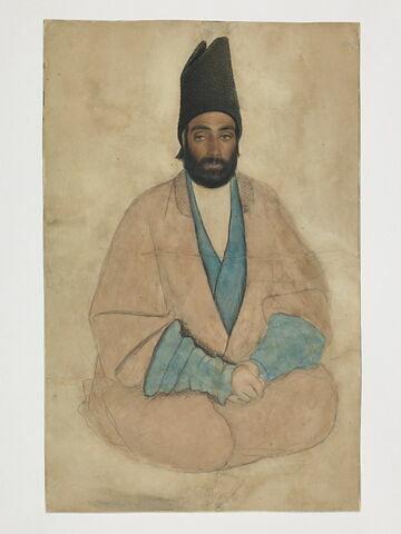 Portrait d'homme au bonnet d'astrakan