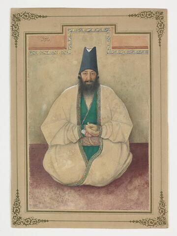 Portrait de Aqa Muhammad Hasan Sardar